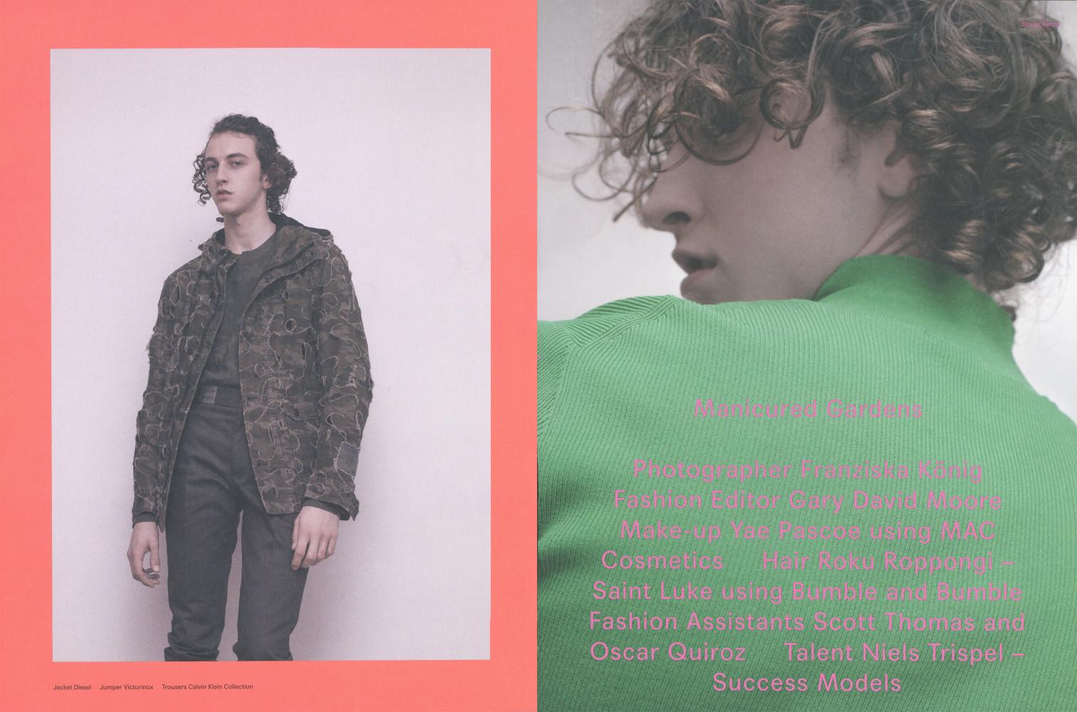 Niels Trispel for Dansk Magazine SS16 issue 35
