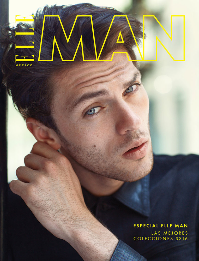 Silviu Tolu for ELLE MAN Mexico SS16