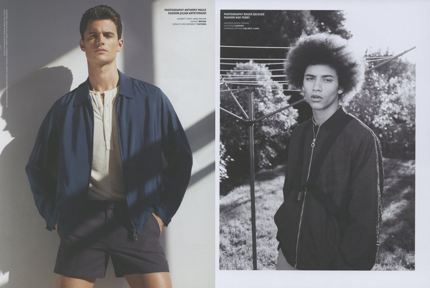 Lucas Satherley for VMAN Magazine SS16