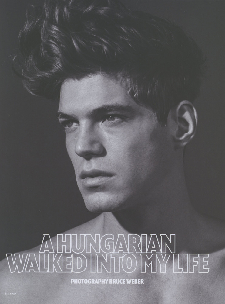 Bertold Zahoran for VMAN Magazine SS16