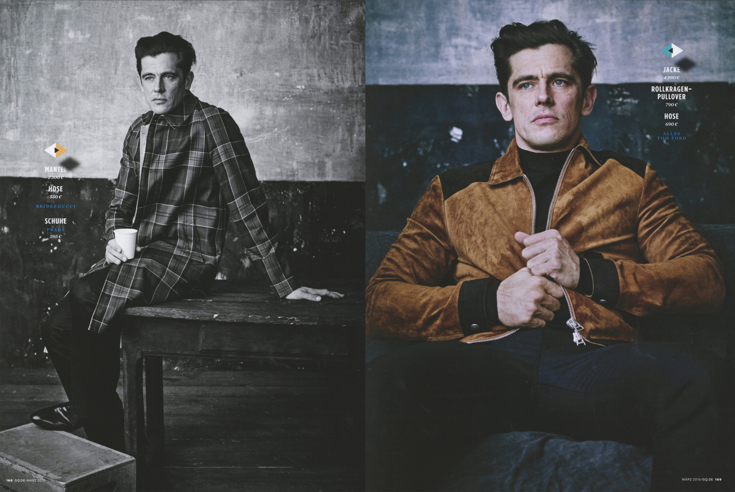 Werner Schreyer for GQ Germany SS16