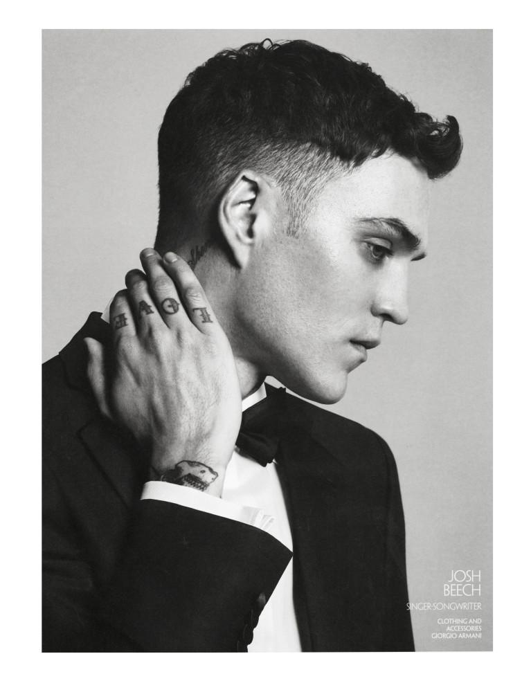 Josh Beech for CR Fashion Book Men SS16