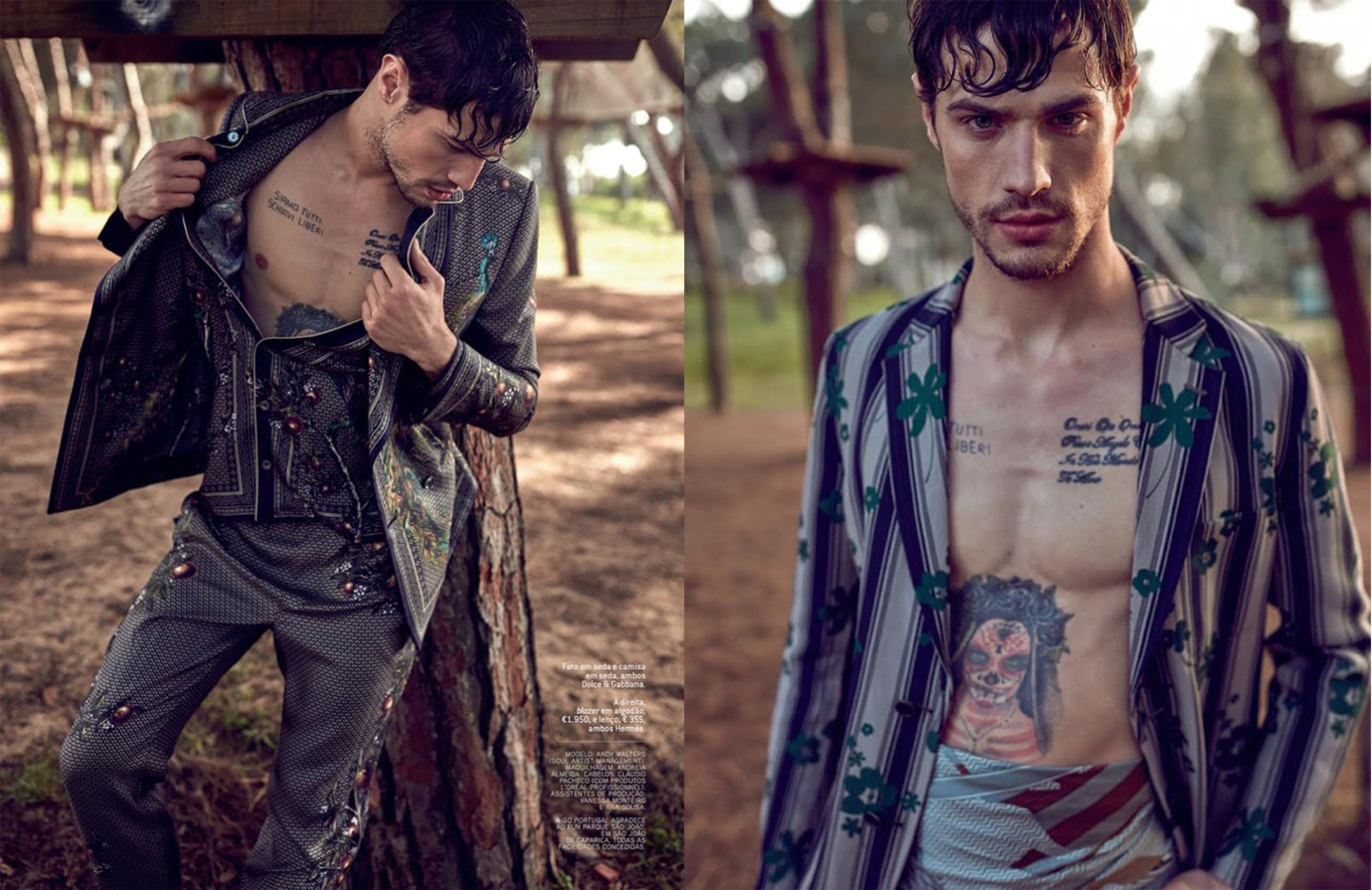 Andy Walters for GQ Portugal