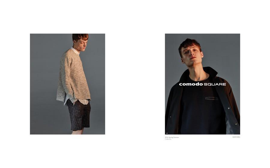 Dane Bell for Comodo Square SS16