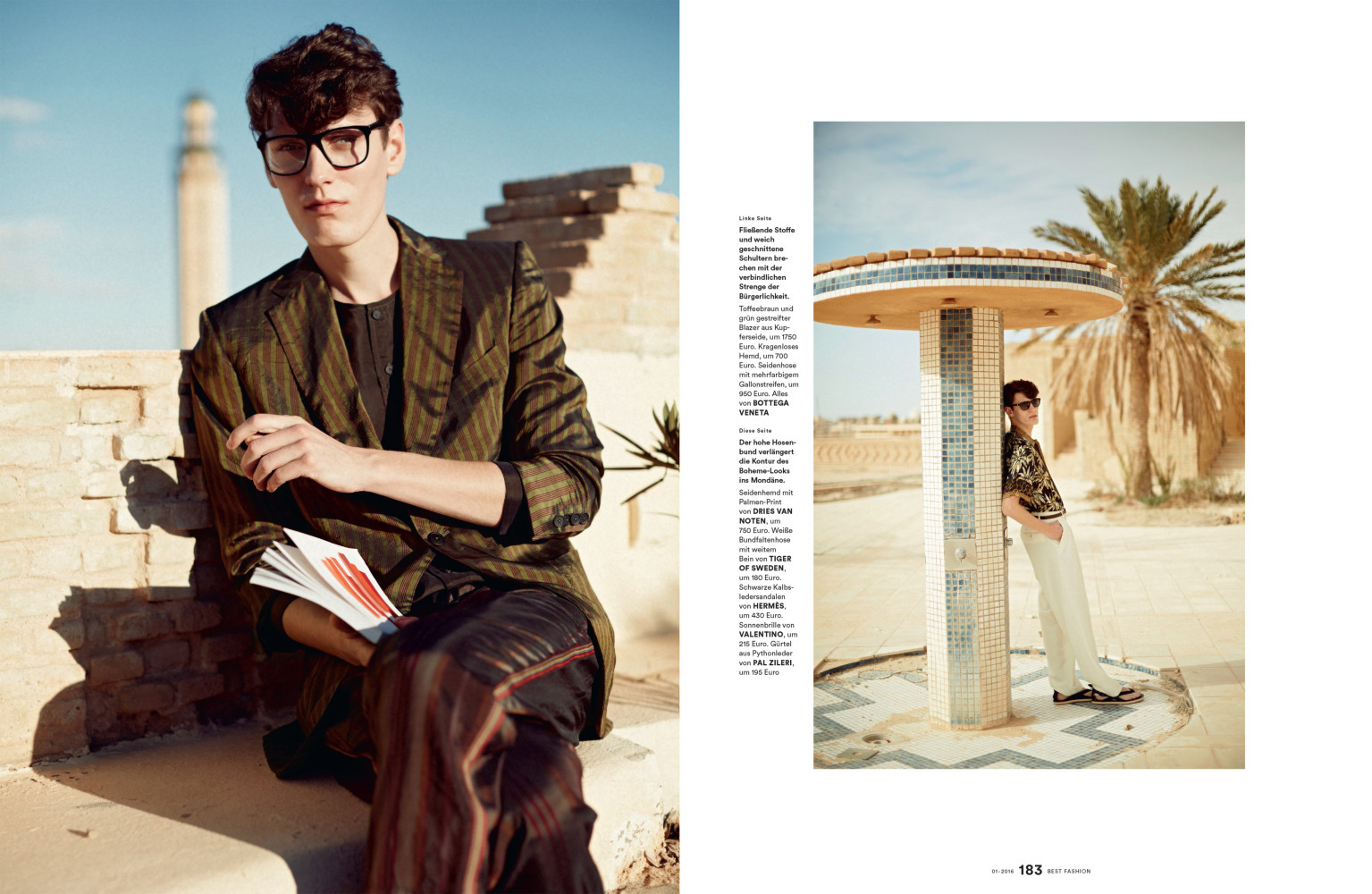 Jakob Schutte for Men's Heath Best Fashion Magazine