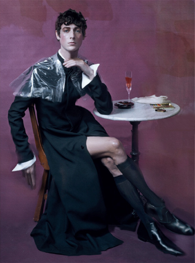 Marc-André Turgeon and Niels Trispel for Vogue Italia March 2016