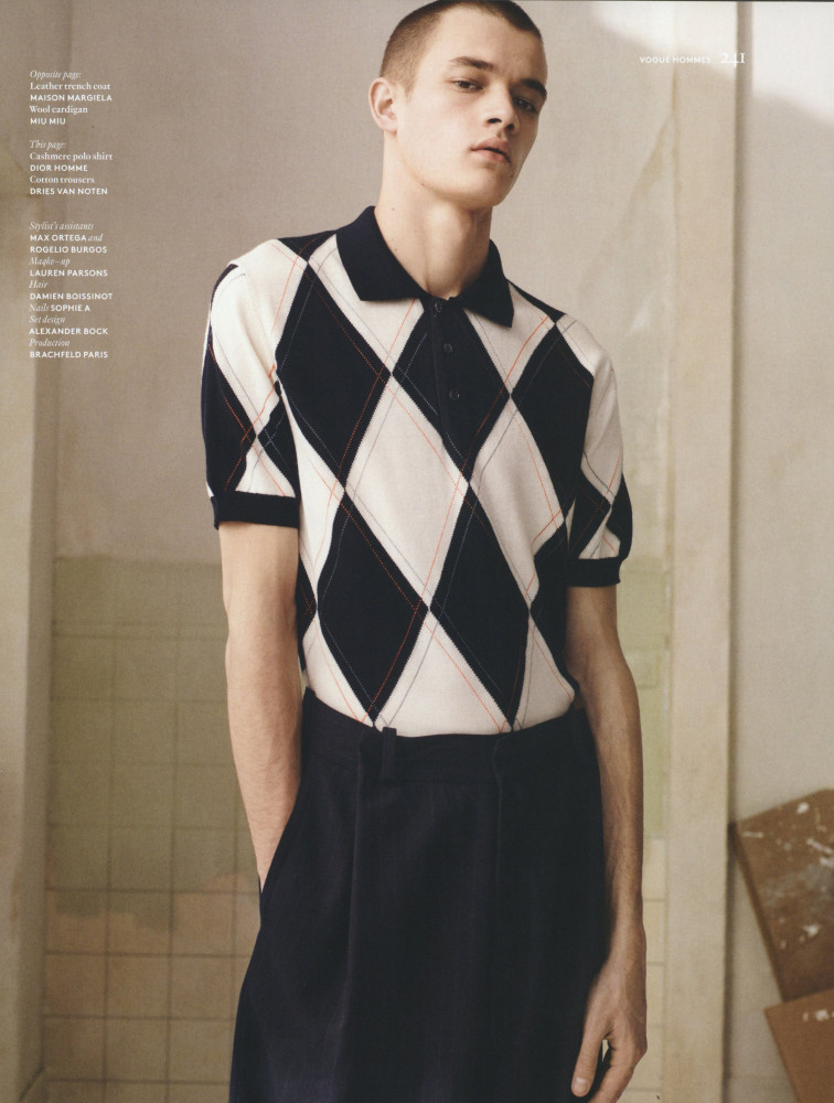 Maxime Frenel for Vogue Hommes
