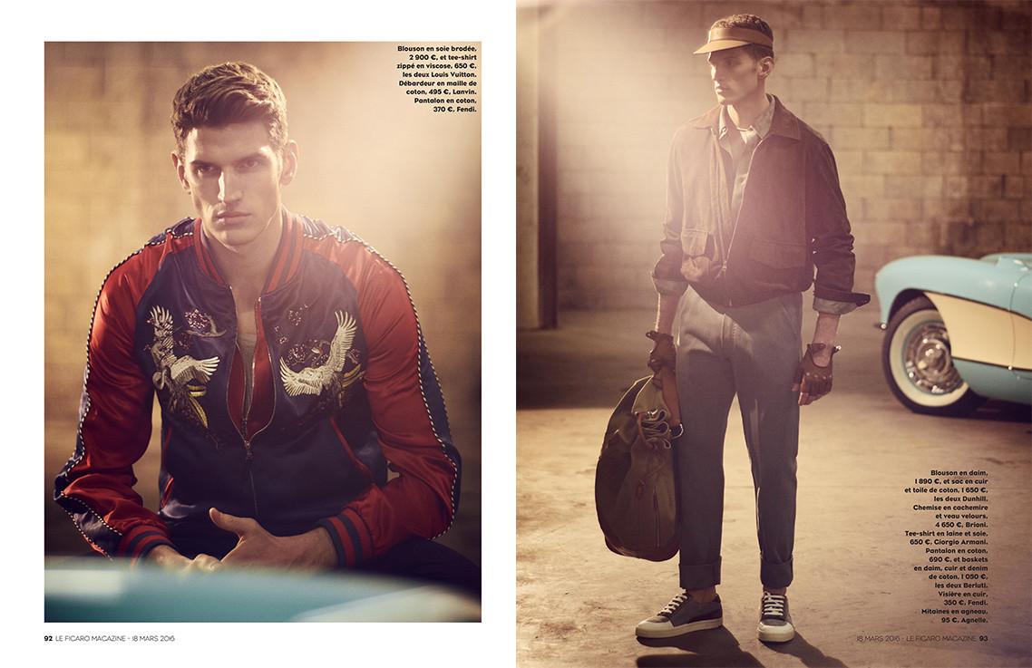 Andre Feulner for Le Figaro Magazine