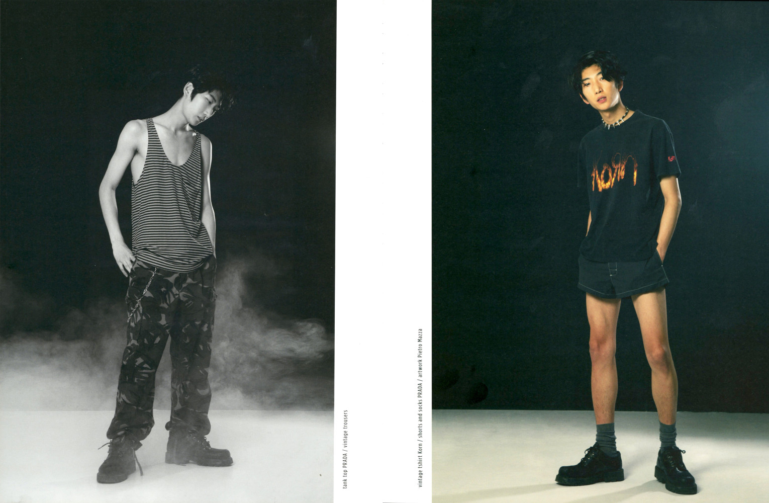 Bom Lee and Owen Bitter for HUNTER magazine
