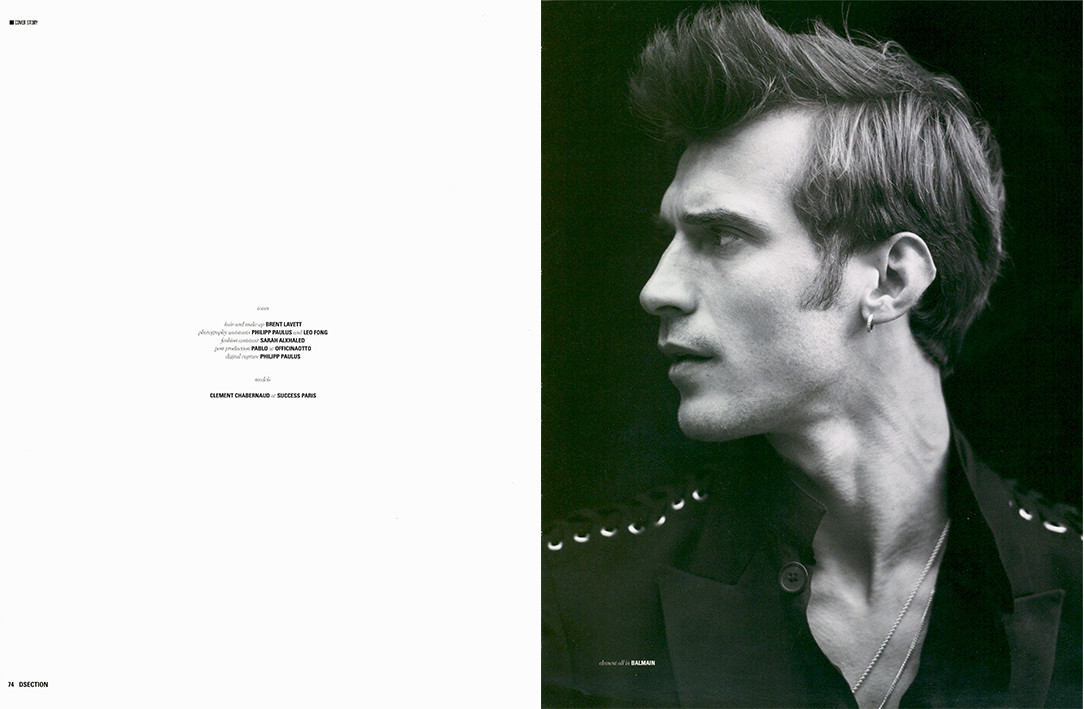 Clément Chabernaud for DSECTION Magazine