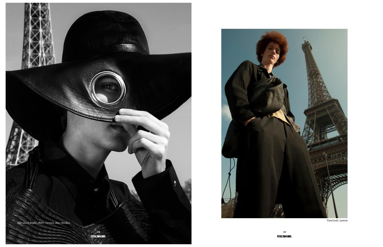 Luca Vicino and Jean-Michel Alvarez for Peter, Tom & Dave Magazine