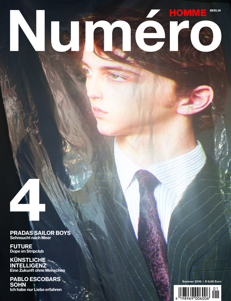 Niels Trispel for Numero Homme Berlin