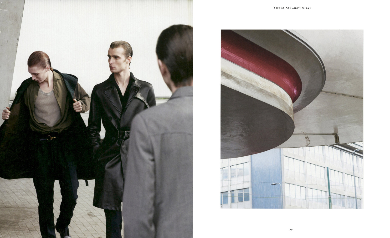 LaurieHarding for Essential Homme