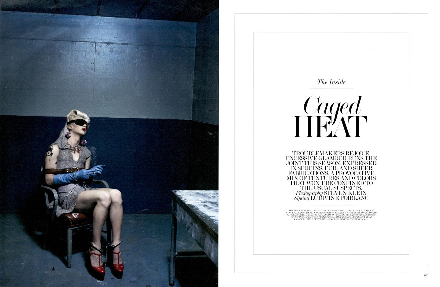 Charlie Himmelstein for Interview Magazine