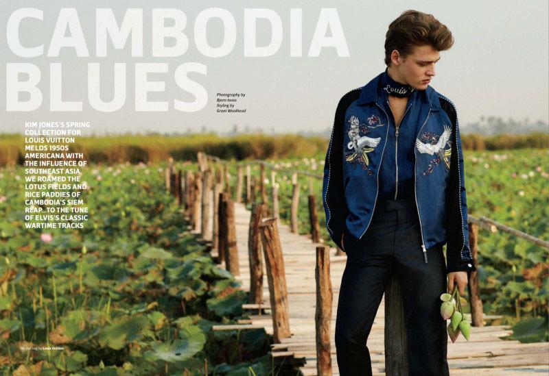 Billy Vandendooren for Out Magazine