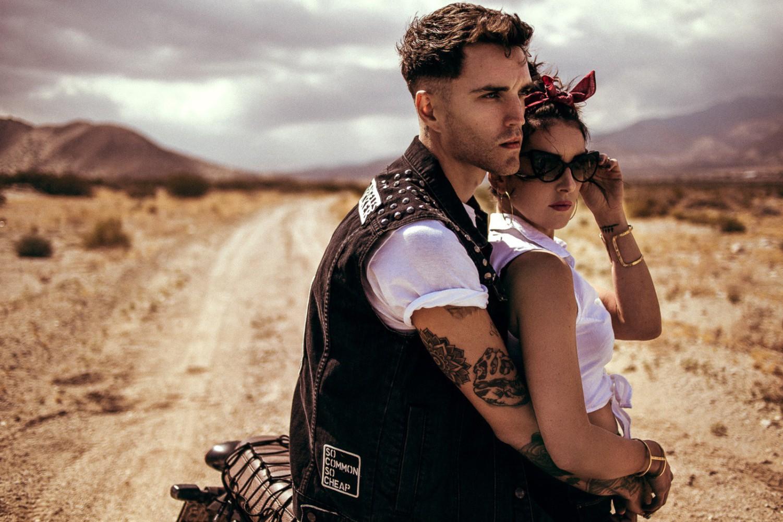 Josh Beech and Shenae Grimes for Hard Magazine