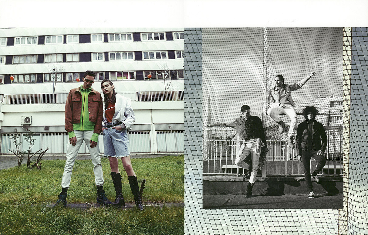 Maxime Frenel, Luca Fixy and Willy Cartier for Vulkan Magazine