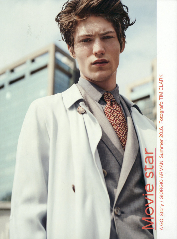 Boyd Gates for GQ Italia