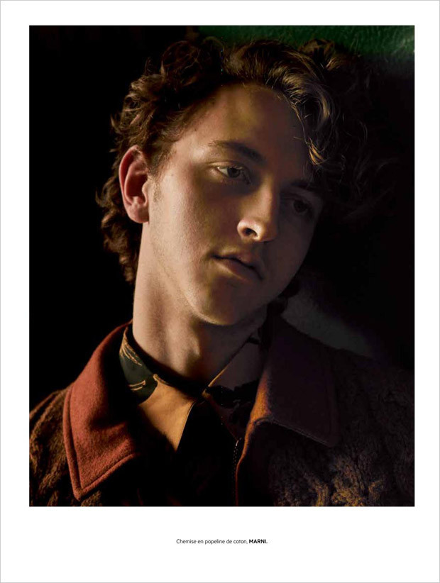 Niels Trispel for L'Officiel Hommes Levant