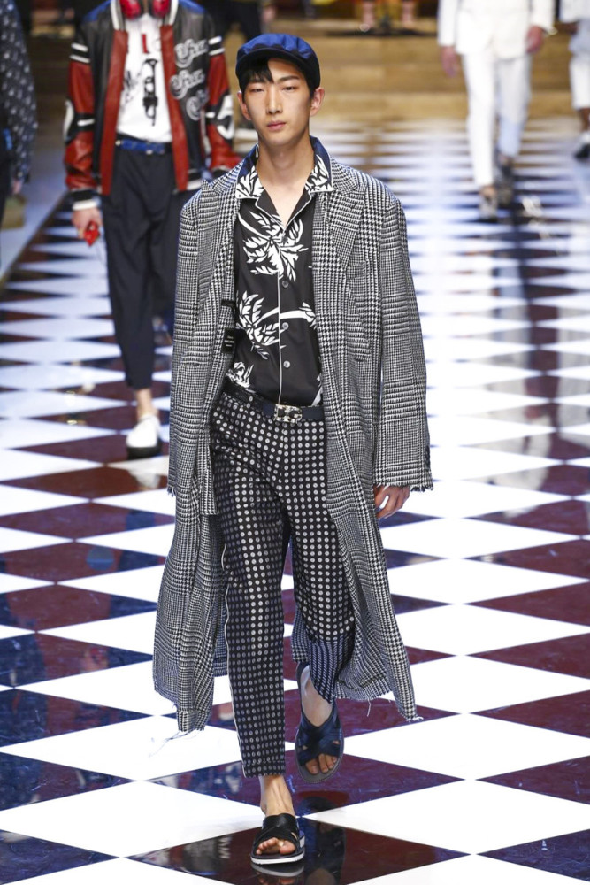 Bom Lee for Dolce & Gabbana SS17