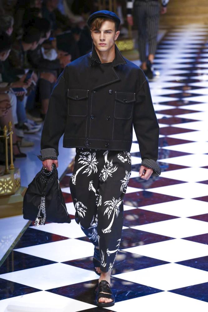Ruud Van Buren for for Dolce & Gabbana SS17