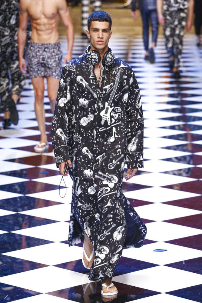 Ashton Gohil for Dolce & Gabbana SS17