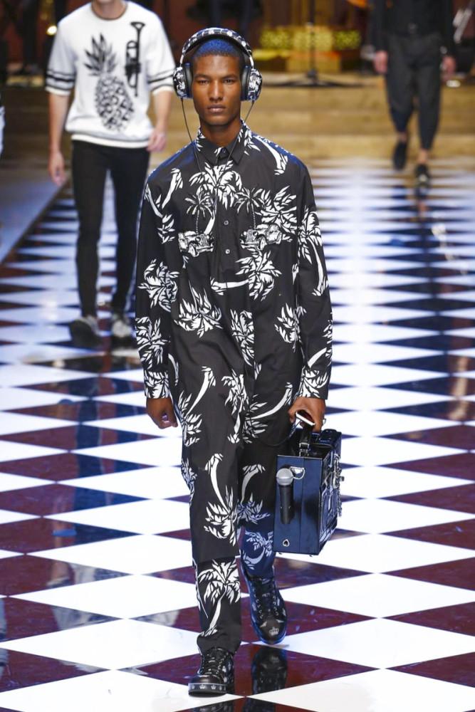 Brad Allen for Dolce & Gabbana SS17