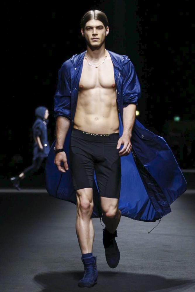 Bertold Zahoran for Versace SS17