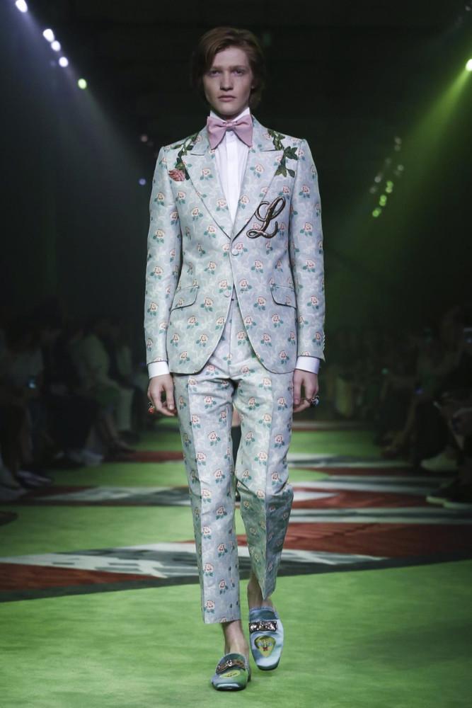 Liviu Scortanu for Gucci SS17