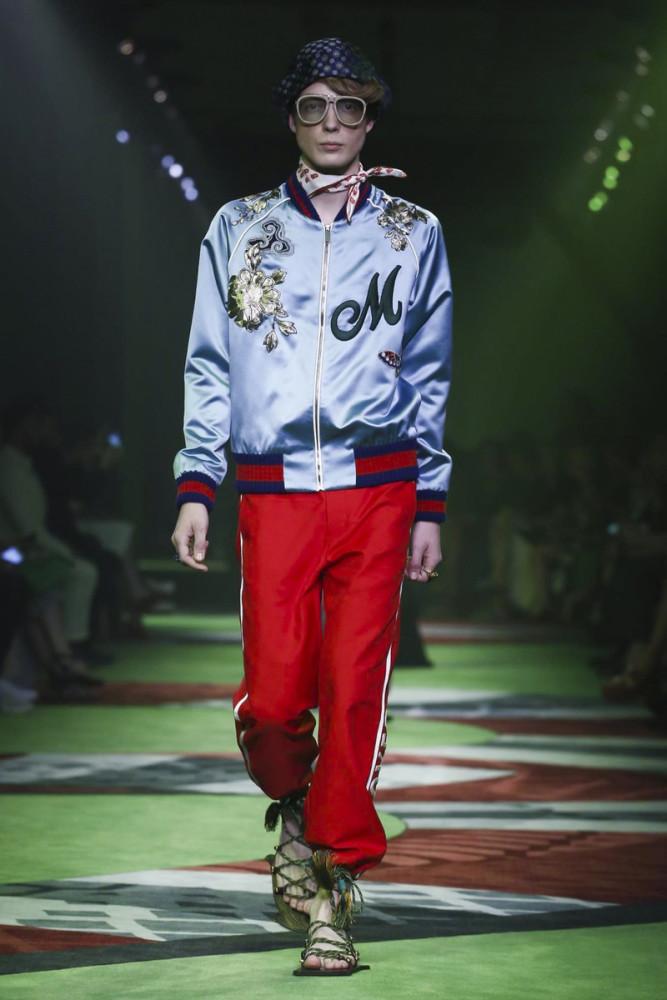 Charles De Vilmorin for Gucci SS17