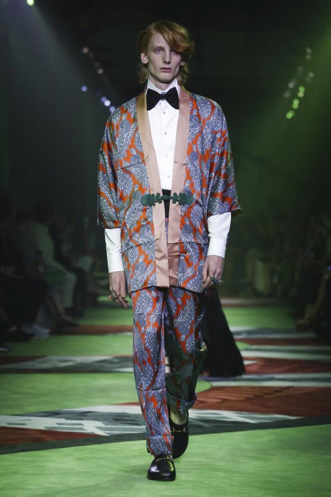 Dwight Hoogendijk for Gucci SS17