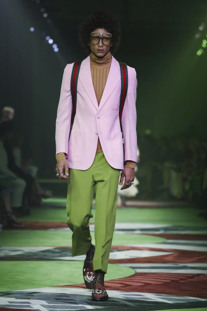 Djavan Mandoula for Gucci SS17
