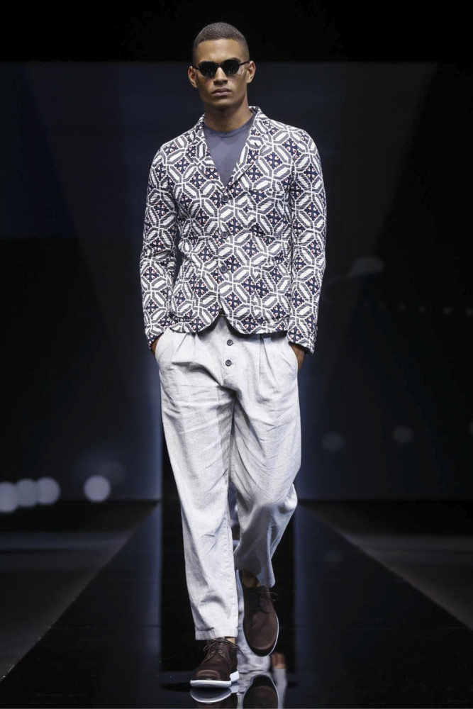 Terence Telle for Giorgio Armani SS17