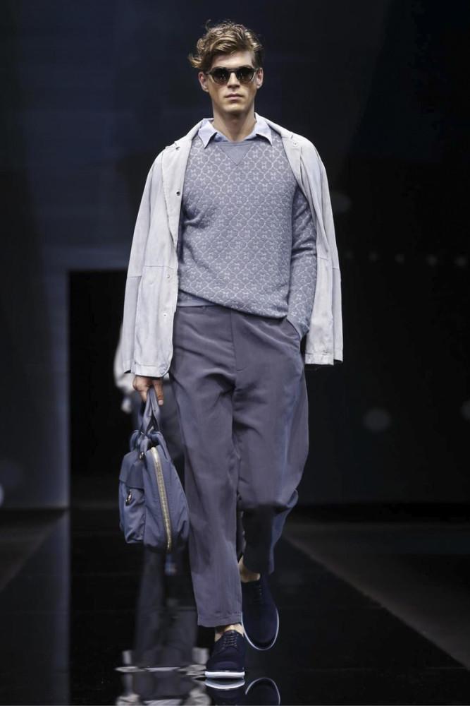 Bertold Zahoran for Giorgio Armani SS17