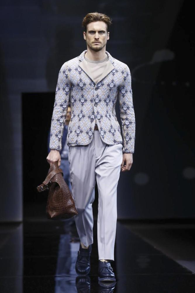 Maxime Daunay for Giorgio Armani SS17