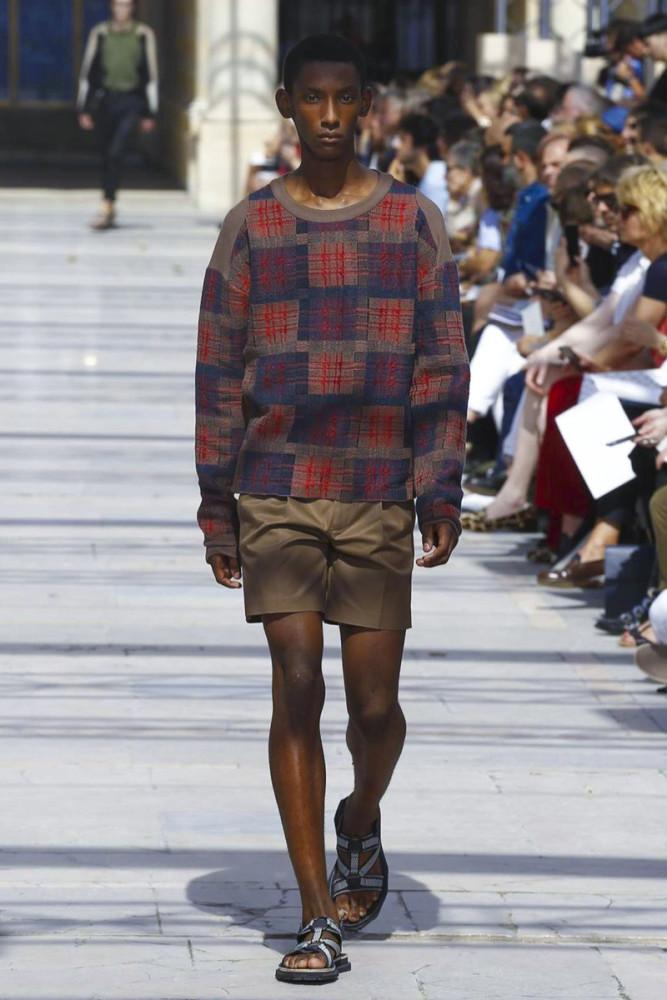 Myles Dominique for Louis Vuitton SS17
