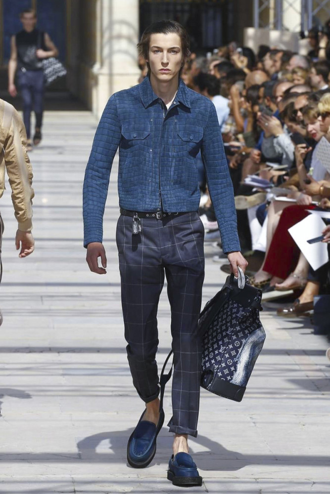 Nick Fortna for Louis Vuitton SS17