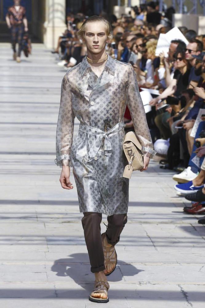 Dominik Sadoch for Louis Vuitton SS17
