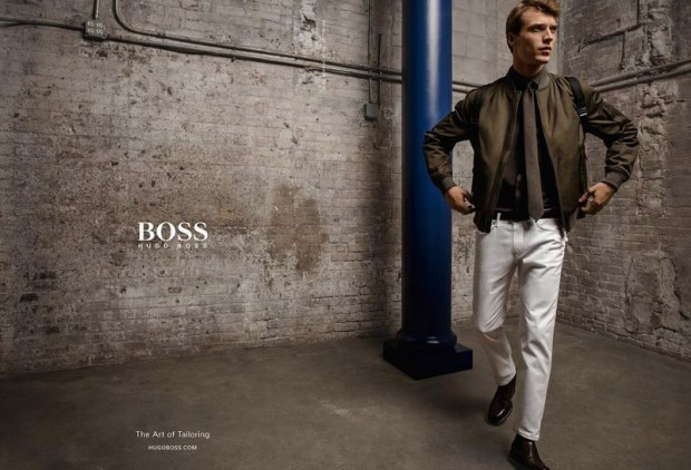 Clément Chabernaud for BOSS by Hugo Boss FW16