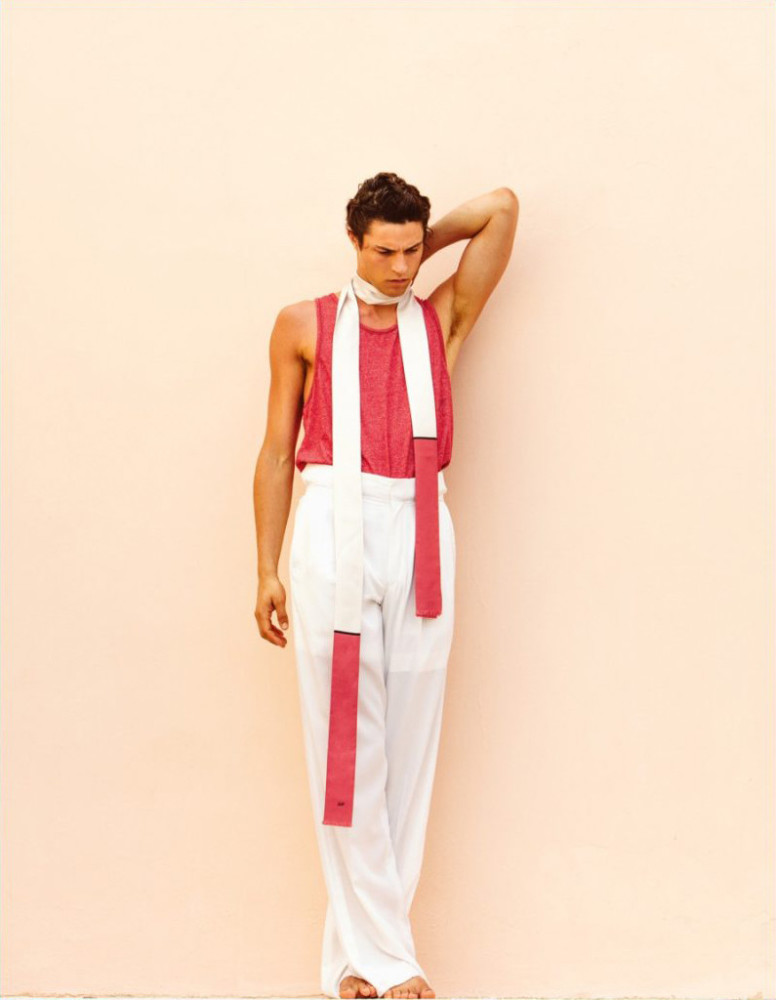 Milles McMillan for L'Officiel Hommes Espana