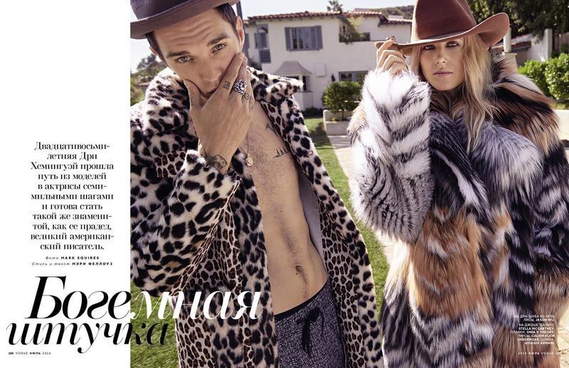 Josh Beech for Vogue Russia
