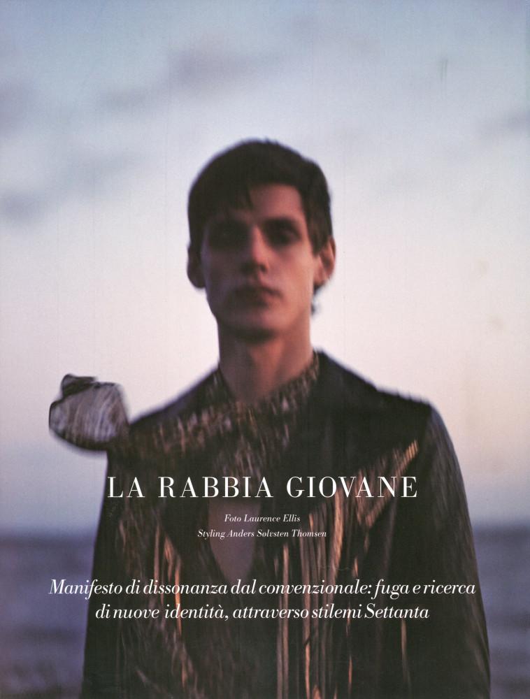 Nick Fortna for L'Officiel Hommes Italia