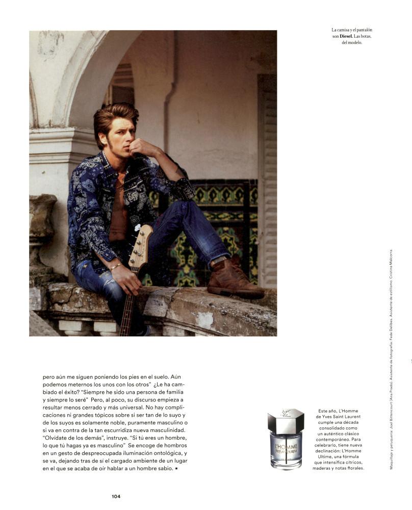 Vinnie Woolston for ICON Magazine