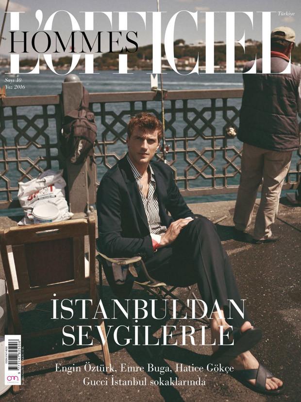 Clement Chabernaud for L'Officiel Hommes Turkey