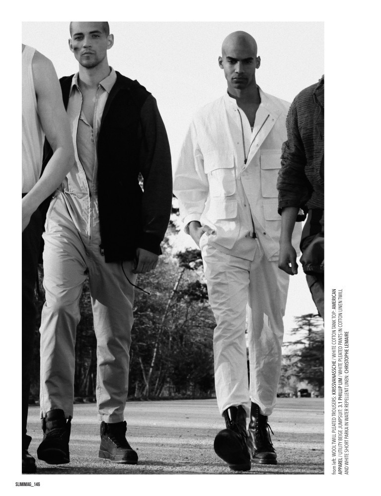 Maxime Frenel et Yannick Mabille for Slimimag