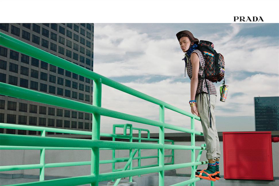 Prada SS17 campaign menswear