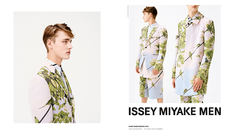 Issey Miyake Men SS16 campaign