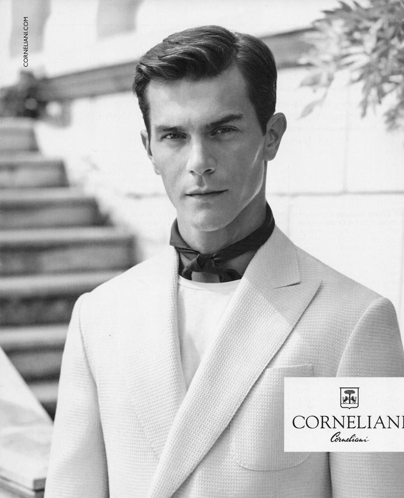 Corneliani SS16 campaign