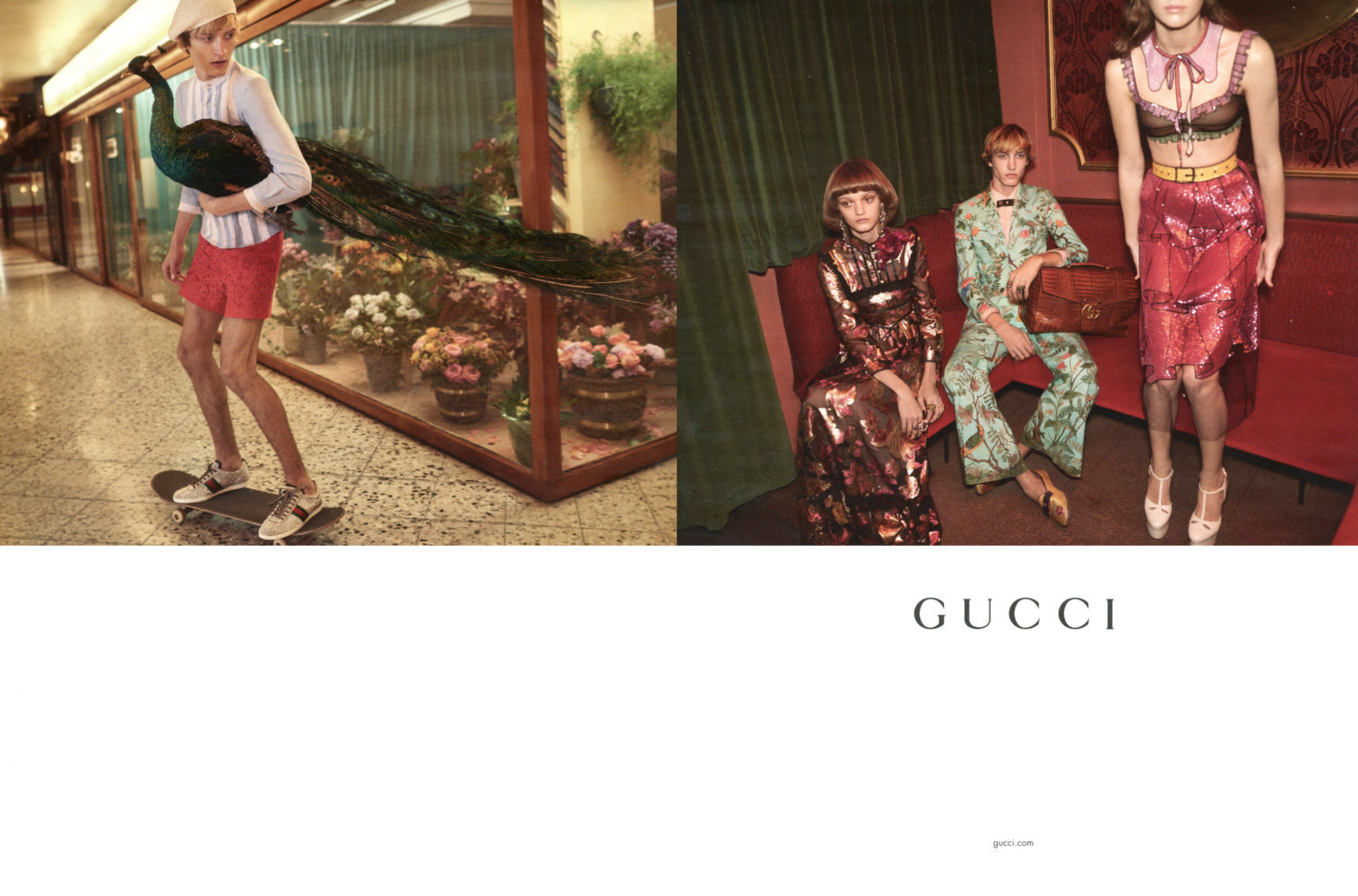 Gucci SS17 campaign