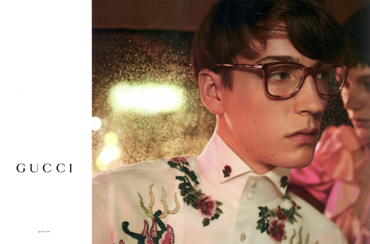 Gucci SS17 eyewear campaign